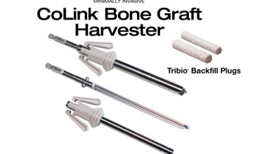 Photo of In2Bones Introduces CoLink® Bone Graft Harvester And Tribio™ Backfill Plugs