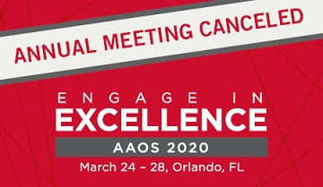 Photo of AAOS Cancels 2020 Annual Meeting Over Coronavirus Concerns