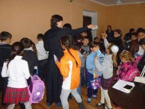 Урок Основ Православной веры в абхазской школе