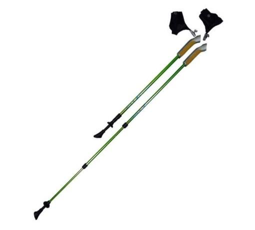 Палки для скандинавской ходьбы телескопические, 3-х секционные Арт.TS-302