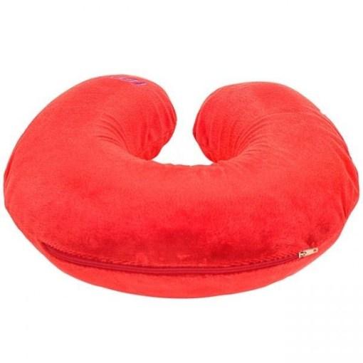 Ортопедическая подушка-воротник Fosta F 8028, красная (1)