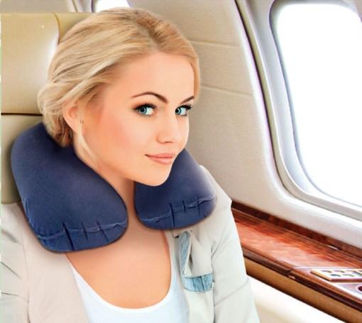 Подушка для путешествий надувная Арт. LumF-510