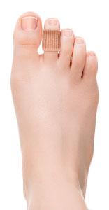 Протектор силиконовый для пальцев стопы на тканевой основе Case Soft С 2707