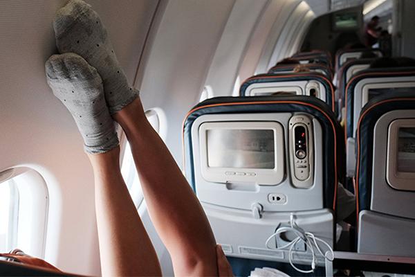 Варикоз в самолете