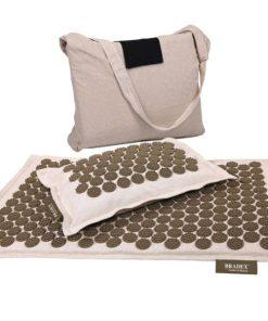 Набор акупунктурный «НИРВАНА» (подушка, коврик, сумка) BRADEX KZ 0581