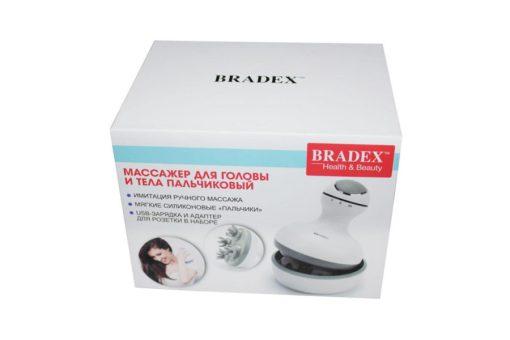 Массажер для головы и тела пальчиковый BRADEX KZ 0528