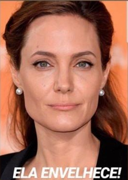 Angelina Jolie sem preenchimento