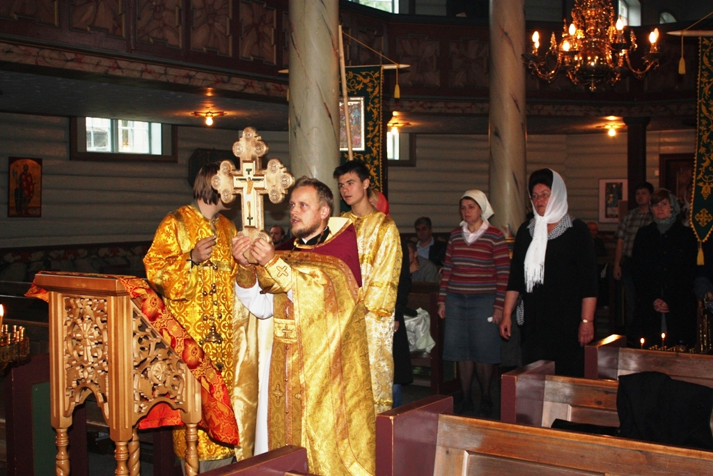 Праздник Воздвижения Креста Господня в Тронхейме