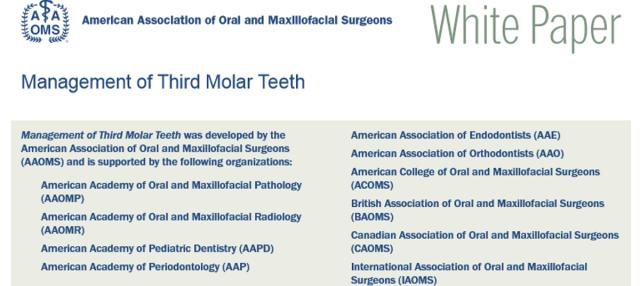 terceiro molar white paper