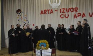 Corul de preoți din blagocinia Râșcani