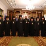 Ierarhii Mitropoliei Moldovei au participat la lucrările Sfântului Sinod al Bisericii Ortodoxe din Moldova