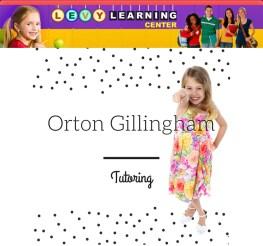 Orton gillingham tutoring online