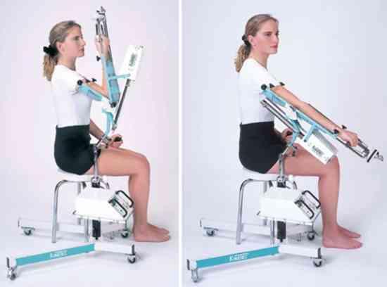 Esse aparelho ajuda a realização precoce dos movimentos sem gerar muito impacto