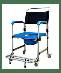 Cadeira de Banho com coletor Dellamed D50 para 150Kg - Ortopedia Online SP
