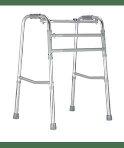 Andador em alumínio fixo e articulado Práxis - Ortopedia Online SP
