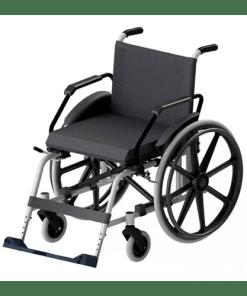 Cadeira de Rodas Taipu J3 em alumínio Jaguaribe - Ortopedia Online SP