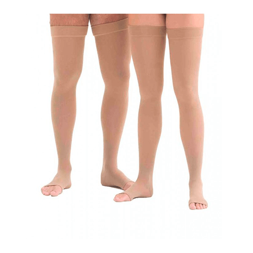Meia de compressão Meia Coxa Jobst Relief 20-30mmGh Unissex - Ortopedia Online SP