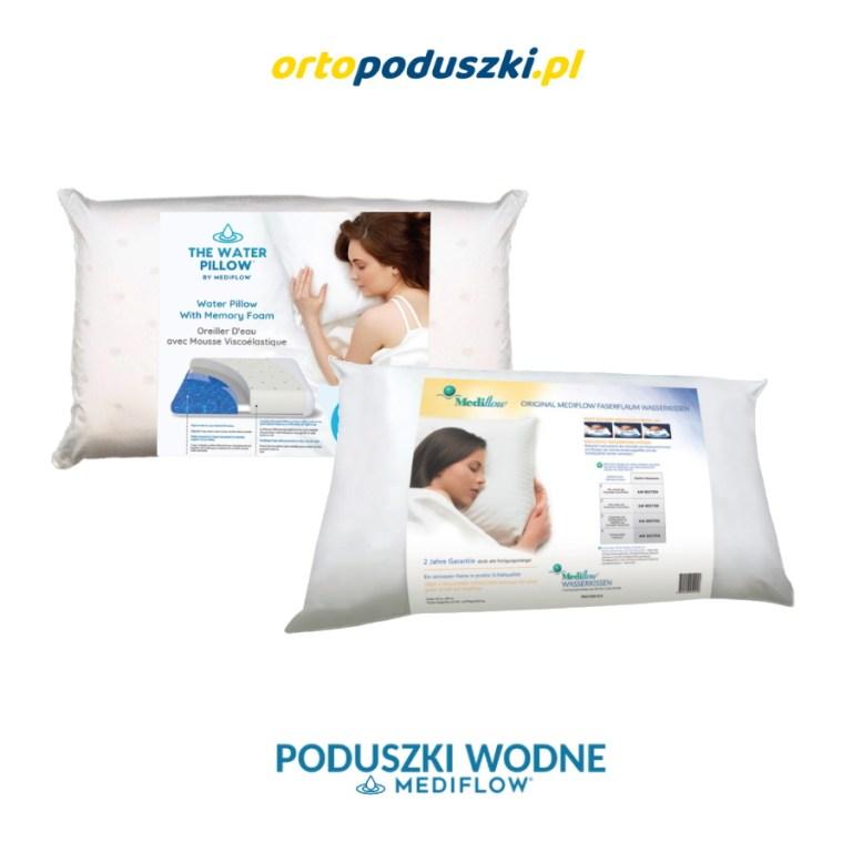 Ortopedyczne poduszki wodne Mediflow