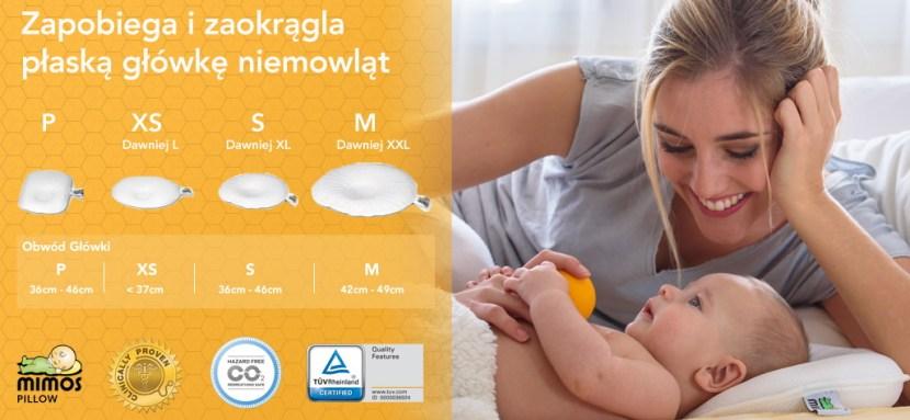 Poszewka do poduszki dla niemowląt MIMOS rozmiary