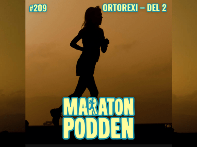 maratonpodden ortorexi