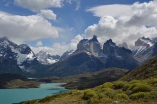 Lago Pehoé - Cuernos del Paine