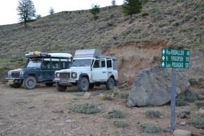 Übernachtungsplatz Ruta 41
