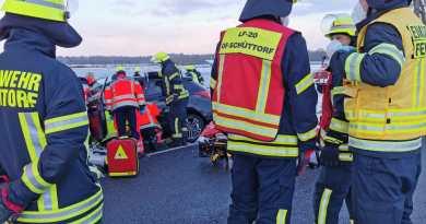 H3Y Verkehrsunfall mit eingeklemmter Person