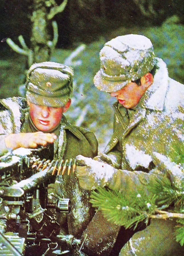 Puškomitraljesci planinskih jedinica JNA 1970 godine