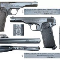 Jugoslovenski ''VOJNO-DRŽAVNI'' pištolj 9 MM Browning M1910/22