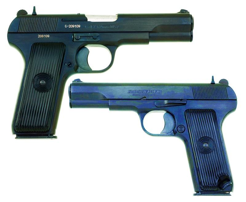Komercijalni pištolj М-57/М-60 7,62х25mmTT i 9х19mm