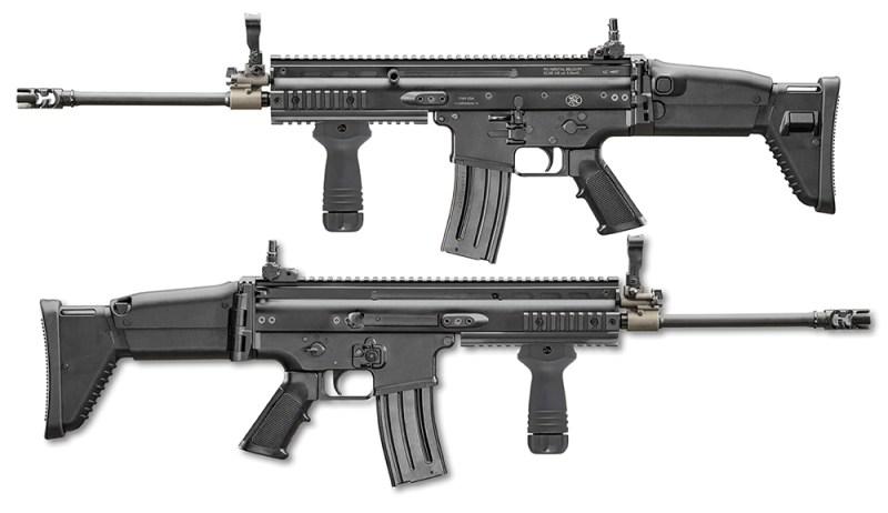 FN SCAR L obe strane