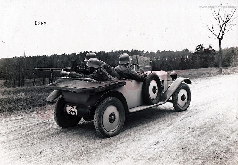 PM ZV M26 na terenskom ćehoslovačkom vozilu