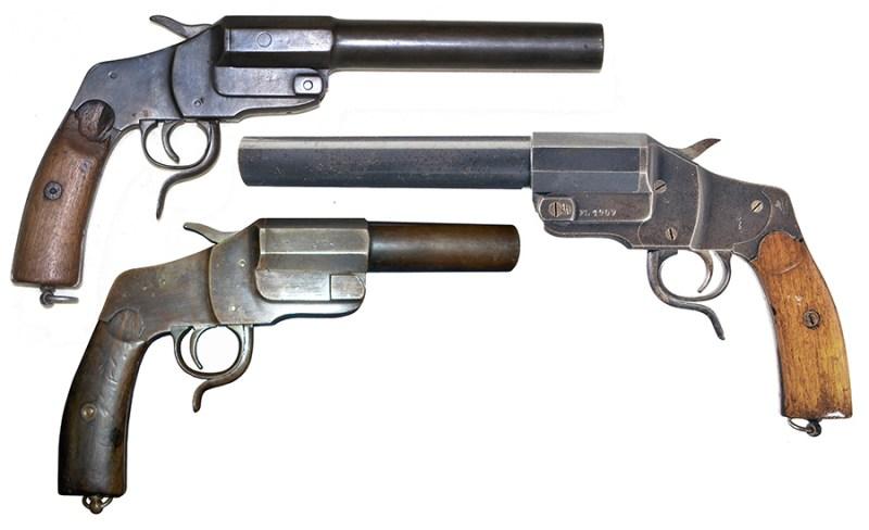 Nemački signalni pištolj 26,65 mm ''Hebel'' M1894.