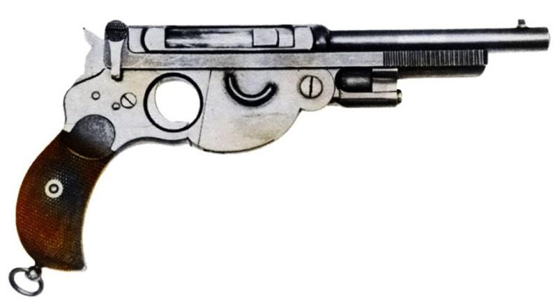 8mm M1894 Bergmann-Schmeisser pistolj No 1 Bergman