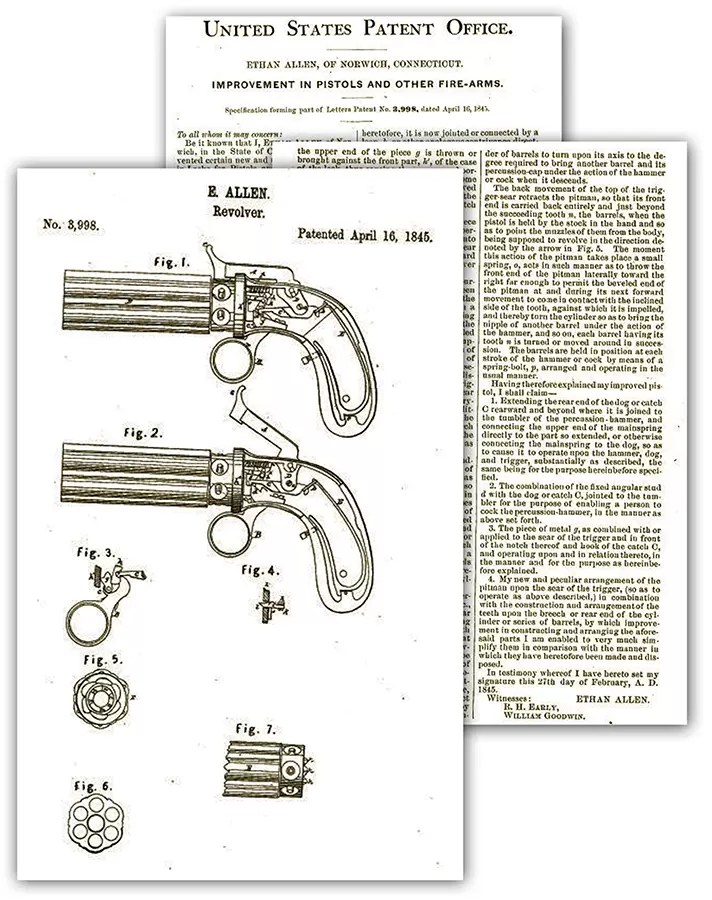 Alinov patent br. 3998 od 16. aprila 1845