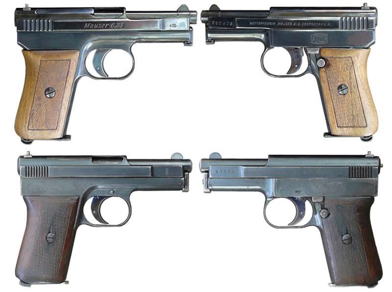 Nemački pištolji sistema Mauser M1910 i M1914