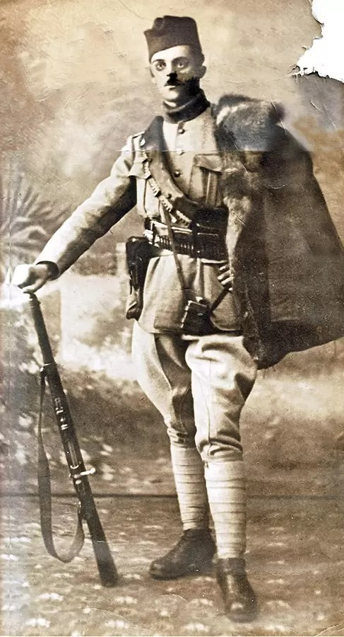 Vlastimir Maksimovic, ucesnik Toplićkog ustanka sa bombom M12
