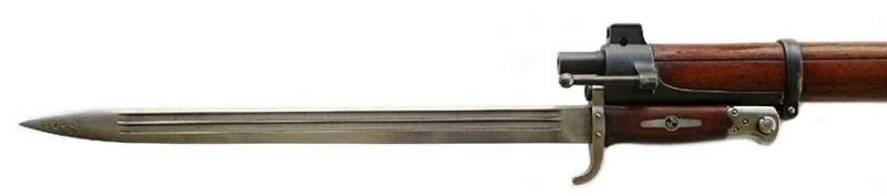 Jelenov bajonet sa sečivom dužine 500 mm. Foto Jan Skramoušský, Mauser podle Jelena, Vojenski historickéhi ústav.