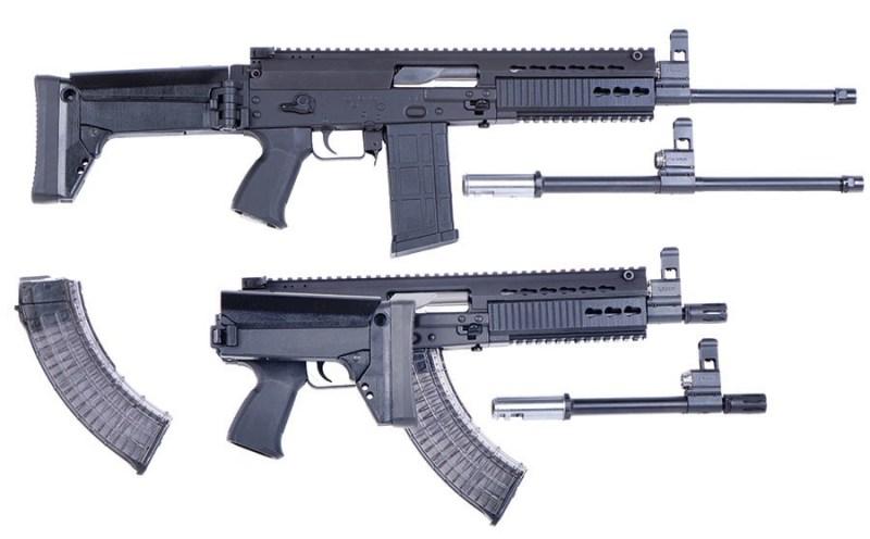 Puška i automat 7.62/6.5mm M19 sa izmenlјivim cevima