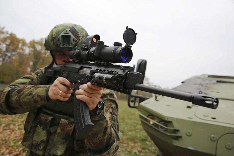 Vojnici sa MAP M17/19