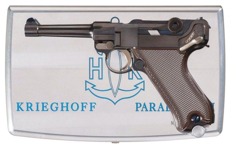 Krighofov jubilarni pištolj Luger Parabellum P08