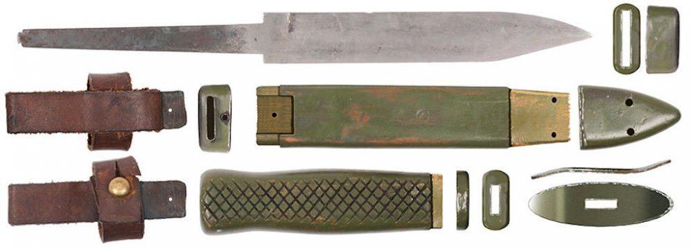 Noz M1951 u rasklopu