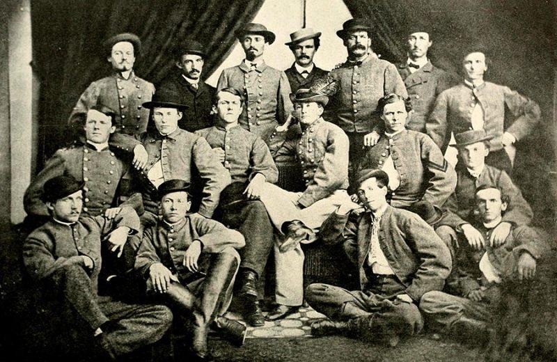 Rendžeri Džona Mosbija, Građanski rat 1861-1865