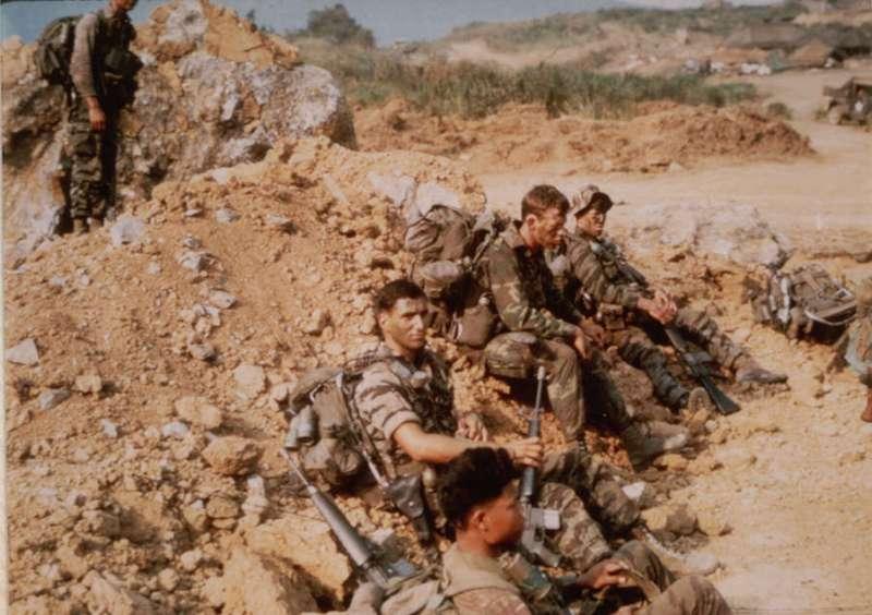 Deo čete LRRPs kod Khe Sanga, Vijetnam, 7. april 1968
