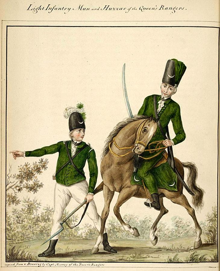Kraljičini rendžeri iz vremena američke revolucije