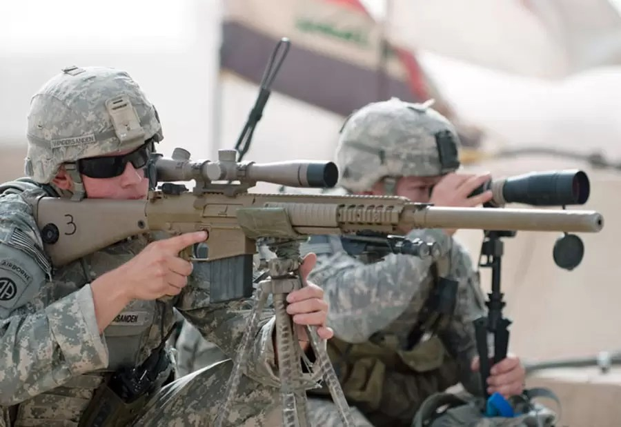 M110 SASS (Semi-Automatic Sniper System)