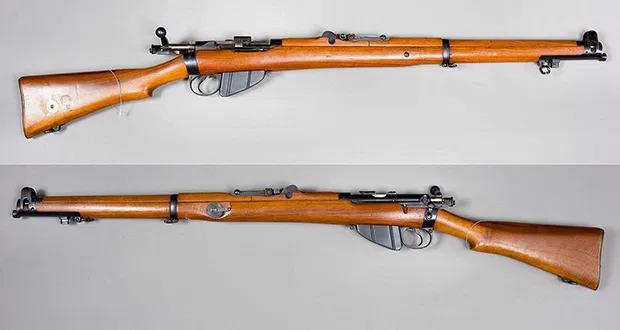 Lee-Enfield-Rifle. 25 Neobicnih Primeraka Obicnog Oružja