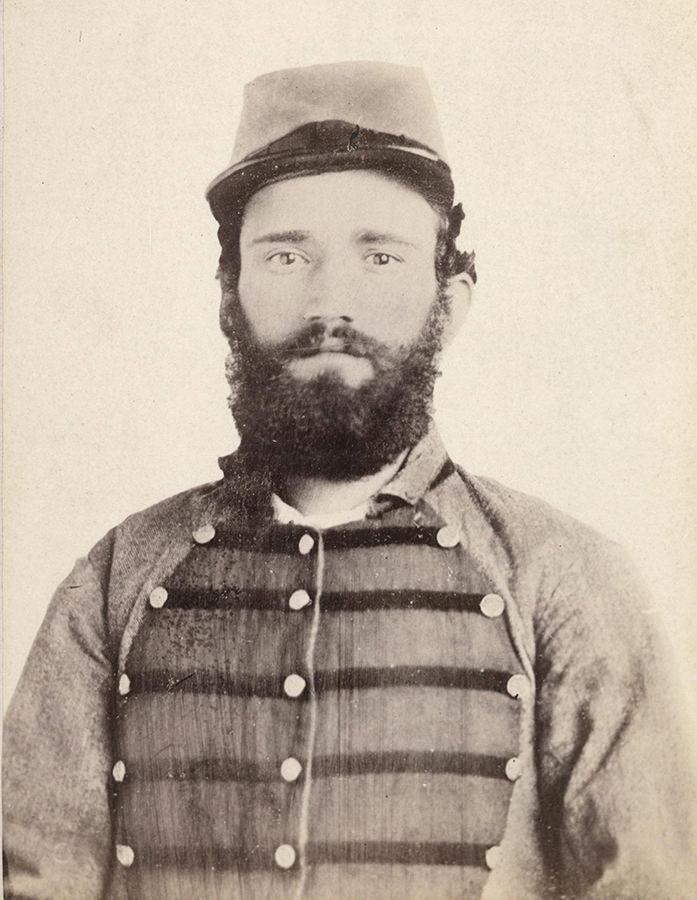 Pripadnik 2. teksaškog konjičkog puka, Građanski rat