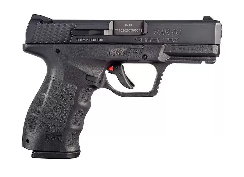 SAR USA SAR9 Compact Pistol. Najbolji novi pištolji u 2021
