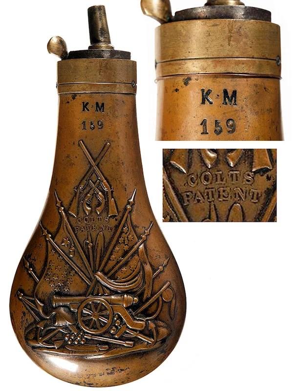 Pruska mornarička barutnica za Colt Navy 1851